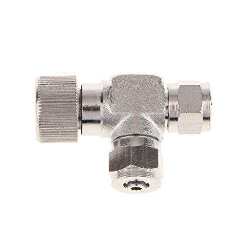 Baosity-2-Pcs-Plant-Tank-CO2-Gauge-Fine-Tuning-Regulator-Bubble-Counter-Twin-Head-0-1
