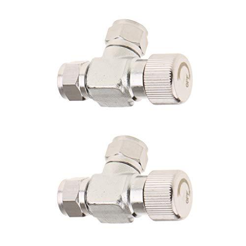 Baosity-2-Pcs-Plant-Tank-CO2-Gauge-Fine-Tuning-Regulator-Bubble-Counter-Twin-Head-0