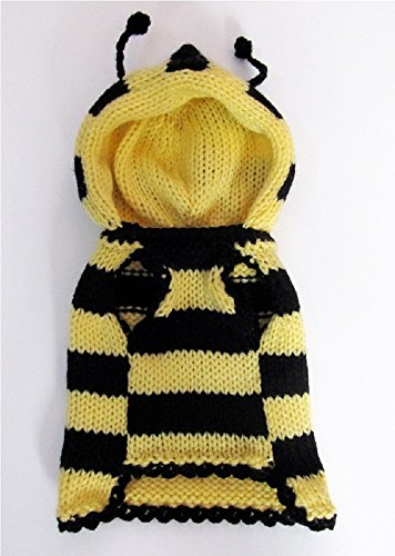 Bee-Dog-Sweater-Dog-Costume-Yorkie-Clothes-Hoodie-Pet-Apparel-Puppy-Clothing-Outfit-Different-Sizes-0-0