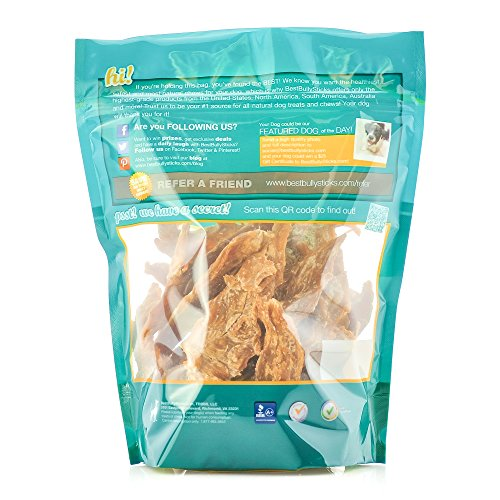 Best-Bully-Sticks-Premium-Chicken-Jerky-Dog-Treats-All-Natural-Slow-Cooked-Whole-Muscle-Dog-Treats-8oz-Bag-Grain-Gluten-Free-0-0
