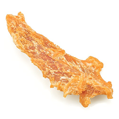 Best-Bully-Sticks-Premium-Chicken-Jerky-Dog-Treats-All-Natural-Slow-Cooked-Whole-Muscle-Dog-Treats-8oz-Bag-Grain-Gluten-Free-0-1
