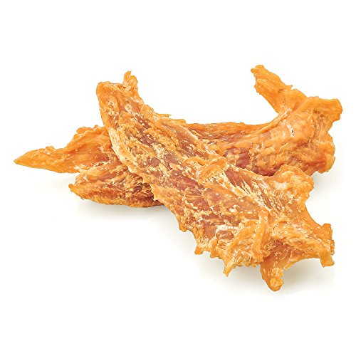 Best-Bully-Sticks-Premium-Chicken-Jerky-Dog-Treats-All-Natural-Slow-Cooked-Whole-Muscle-Dog-Treats-8oz-Bag-Grain-Gluten-Free-0-2