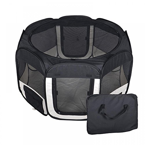 BestPet-Small-Pet-Dog-Cat-Tent-Playpen-Exercise-Play-Pen-Soft-Crate-0-0