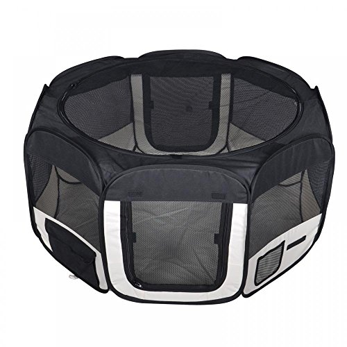 BestPet-Small-Pet-Dog-Cat-Tent-Playpen-Exercise-Play-Pen-Soft-Crate-0-1