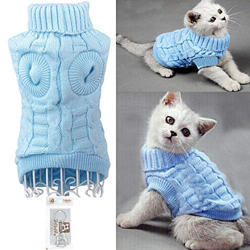 Bolbove-BroBear-Cable-Knit-Turtleneck-Sweater-for-Small-Dogs-Cats-Knitwear-0