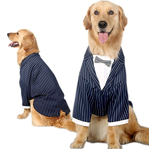 Bolbove-Medium-to-Large-Dogs-Formal-Tuxedo-Handsome-Party-Suit-Striped-Wedding-Bow-Tie-Outfit-0