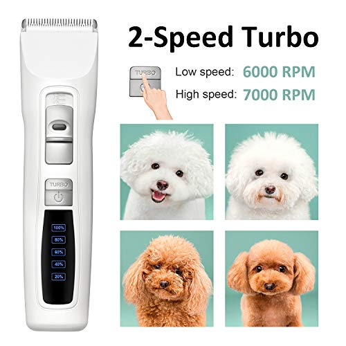 Bousnic-Dog-Clippers-Professional-2-Speed-Cordless-Rechargeable-Pet-Grooming-Hair-Clippers-Kit-for-Small-Large-Dogs-Cats-and-Other-Fur-Pets-0-0