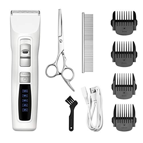Bousnic-Dog-Clippers-Professional-2-Speed-Cordless-Rechargeable-Pet-Grooming-Hair-Clippers-Kit-for-Small-Large-Dogs-Cats-and-Other-Fur-Pets-0