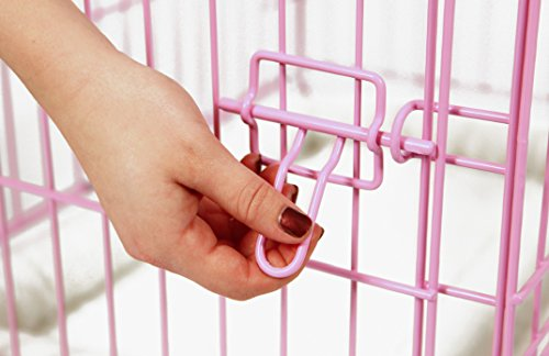 Carlson-Pink-Secure-and-Compact-Single-Door-Metal-Dog-Crate-Small-0-0