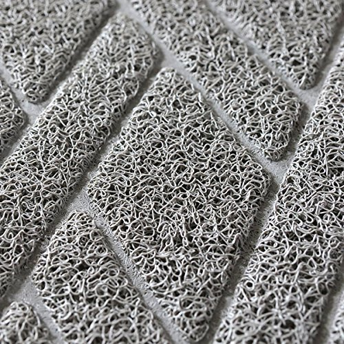 Cat-Litter-Box-Floor-Mat-Catch-Litter-With-Mesh-Mat-Large-Size-Washable-Modern-Non-Slip-PVC-Material-Protects-Your-Floors-Phthalate-Free-Gray-0-0