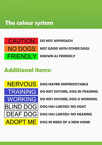 Dexil-Caution-Red-Dog-Bandana-Quality-Personalised-Embroidered-Message-Neck-Scarf-Fashion-Accessory-Prevents-Accidents-by-Warning-Others-of-Your-Dog-in-Advance-0-1