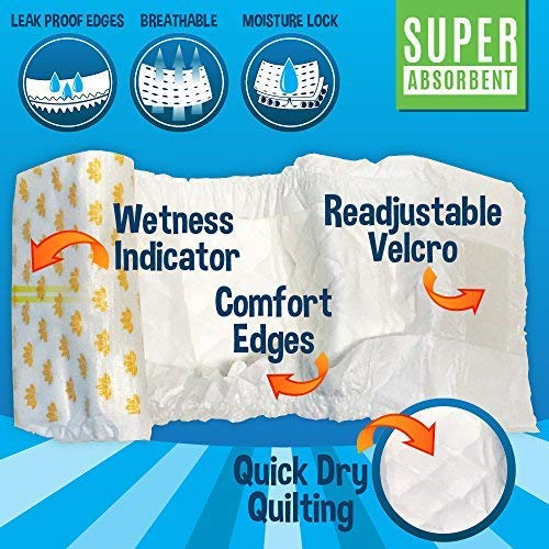 Disposable-Dog-Male-Wraps-20-Premium-Quality-Adjustable-Pet-Diapers-with-Moisture-Control-and-Wetness-Indicator-20-Count-0-1