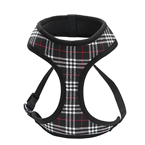 Dog-Harnesses-for-Small-DogsSuper-Soft-Comfortable-Dog-HarnessEasy-To-Adjust-Harness-for-Small-DogsPadded-Mesh-Material-for-Breathability-and-Secure-FitLightweight-Shoulder-And-Chest-Vest-Ideal-0-1