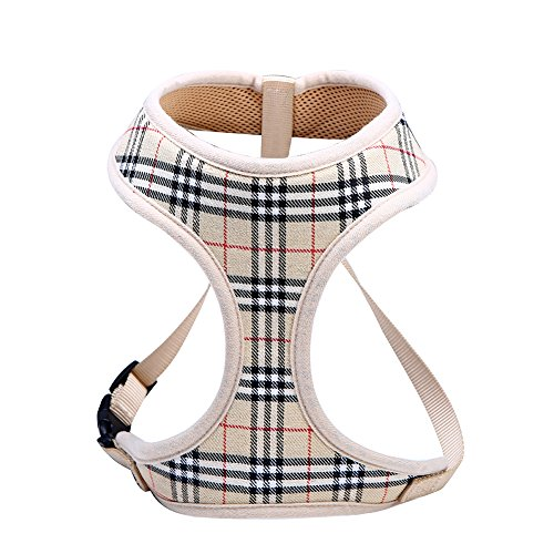 Dog-Harnesses-for-Small-DogsSuper-Soft-Comfortable-Dog-HarnessEasy-To-Adjust-Harness-for-Small-DogsPadded-Mesh-Material-for-Breathability-and-Secure-FitLightweight-Shoulder-And-Chest-Vest-Ideal-0