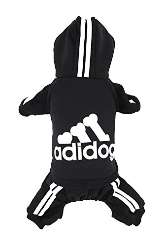 Dorapocket-Adidog-Pet-Sports-Clothes-Hoodies-Dog-Cat-4-Legged-Jacket-for-Cold-Weather-Warm-0