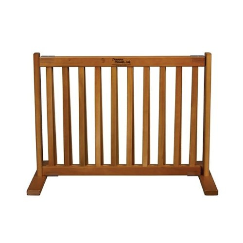 Dynamic-Accents-Free-Standing-Small-Pet-Gate-Artisan-Bronze-0