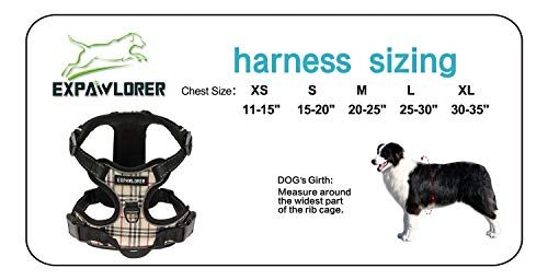 EXPAWLORER-Best-No-Pull-Dog-Harness-3M-Reflective-Outdoor-Adventure-Pet-Vest-with-Handle-8-Stylish-Colors-and-5-Sizes-0-0