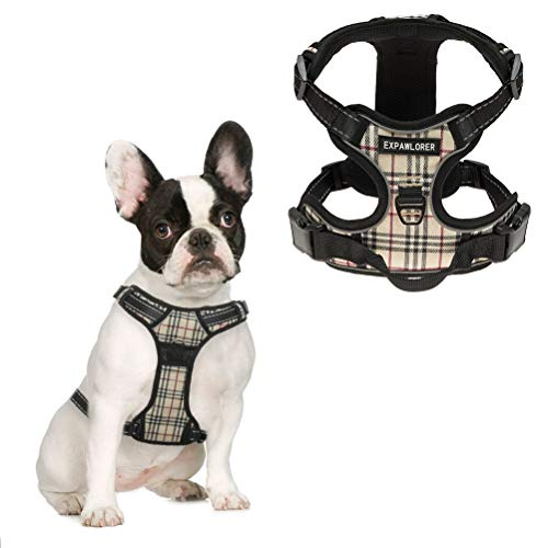 EXPAWLORER-Best-No-Pull-Dog-Harness-3M-Reflective-Outdoor-Adventure-Pet-Vest-with-Handle-8-Stylish-Colors-and-5-Sizes-0