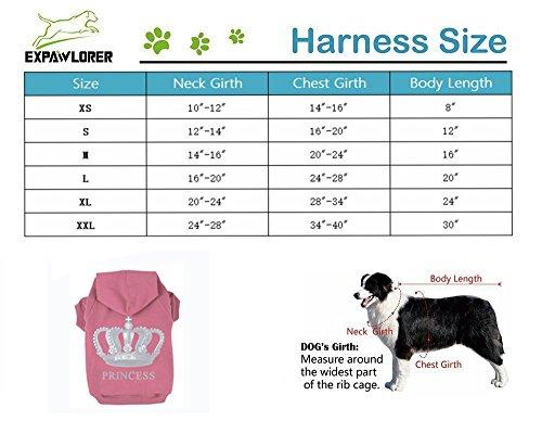 EXPAWLORER-Princess-Dog-Cat-Fleece-Sweatshirt-Hoodies-0-0