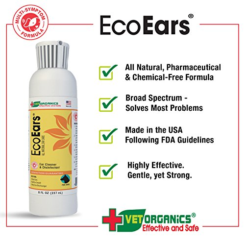 EcoEars-Natural-Dog-Ear-Cleaner-Infection-Formula-For-Itch-Head-Shaking-Discharge-Smell-Multi-Symptom-Ear-Treatment-Cleans-Away-Most-Dog-Ear-ProblemsNo-Chemicals-or-Drugs-100-Guaranteed-0-2
