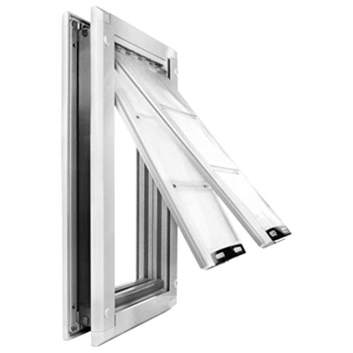 Endura-Flap-Pet-Door-Double-Flap-Door-Mount-Sturdy-Aluminum-Frame-0