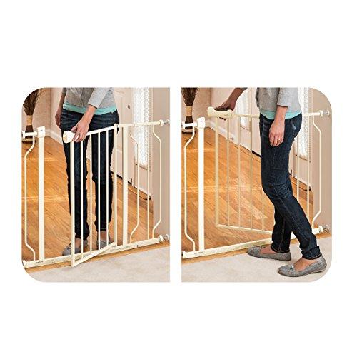 Evenflo-Easy-Walk-Thru-Doorway-Gate-Tan-0-1