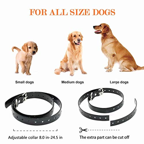 FUNSHION-Shock-Collar-for-Dogs-2600-FT-Dog-Shock-Collar-with-Remote-Beep-Vibration-Shock-Light-Modes-Dog-Training-Collar-IPX7-100-Waterproof-and-Rechargeable-Shock-Collar-0-0