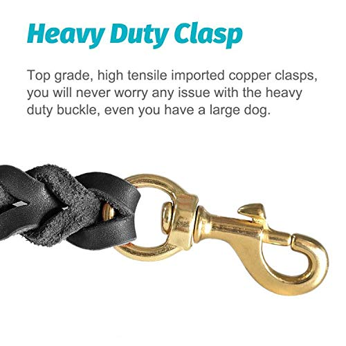 Fairwin-Leather-Dog-Leash-6-Foot-Braided-Best-Military-Grade-Heavy-Duty-Dog-Leash-for-Large-Medium-Small-Dogs-Training-and-Walking-0-0