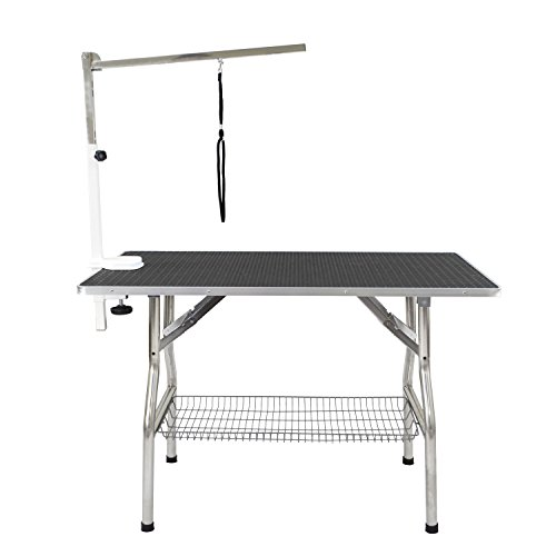 Flying-Pig-Large-Size-Super-Durable-Heavy-Duty-Dog-Pet-Foldable-Grooming-Table-44-x-24-0-0