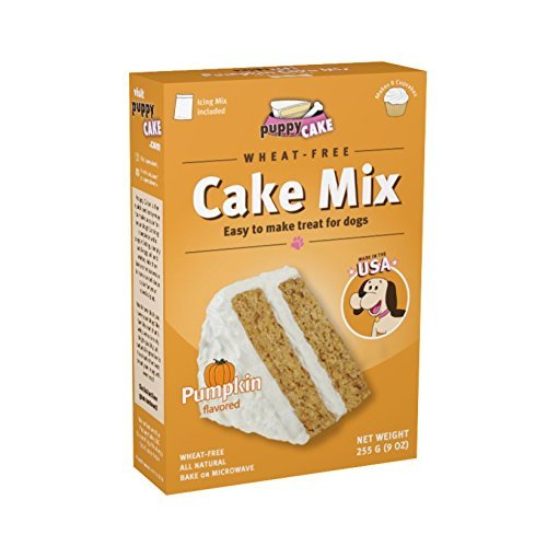 Happybotham-Puppy-Cake-Pumpkin-Cake-Mix-Frosting-Wheat-Free-Dogs-Red-Silicone-Dog-Bone-Cake-Pan-Birthday-Candles-0-0