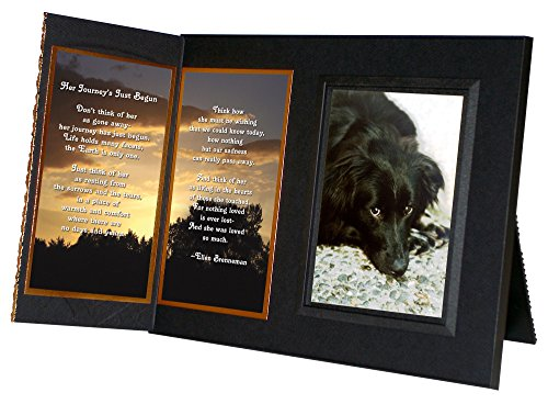 Her-Journeys-Just-Begun-Pet-Loss-Sympathy-Picture-Frame-Gift-and-Memorial-with-optional-custom-photo-editing-0