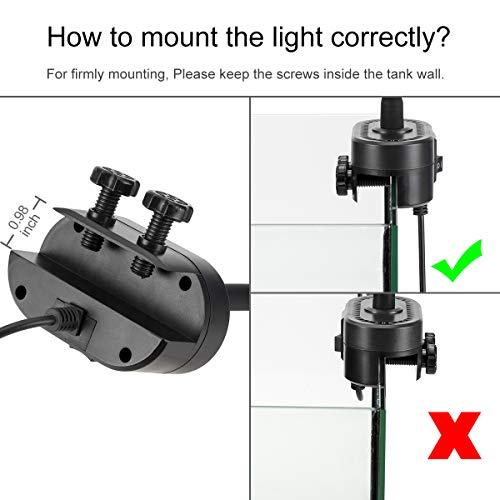 Hygger-Aquarium-Fish-Tank-Light-White-and-Blue-LEDs-Clip-on-Led-Clamp-Light-for-Aquarium-Lighting-with-Adjustable-Clip-Fits-on-Rimless-or-Black-Rim-Tank-0-1