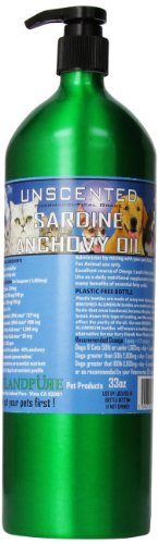Iceland-Pure-Unscented-Pharmaceutical-Grade-Sardine-Anchovy-Oil-For-Dogs-And-CatsBottle-Size-33Oz-0