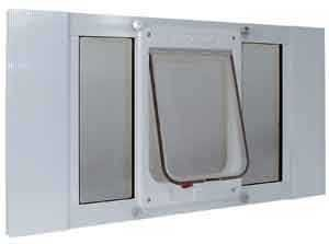 Ideal-Pet-Products-CFSASH-27-Sash-Window-Cat-Flap-Width-adjusts-from-27-in-to-32-in-0