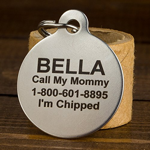 If-It-Barks-Engraved-Pet-ID-Tags-For-Dogs-Personalized-Pet-ID-Name-Tag-Attachment-Made-in-USA-Stainless-Steel-Dog-Tags-0-2