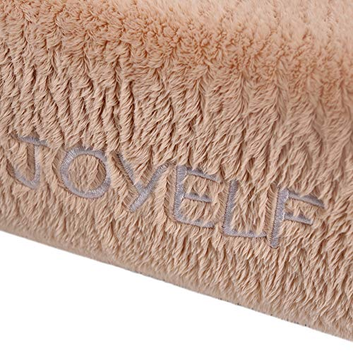 JOYELF-Memory-Foam-Orthopedic-Dog-Bed-with-Liner-Waterproof-Protector-Washable-Cover-and-Soft-Blanket-as-Gift-0-0