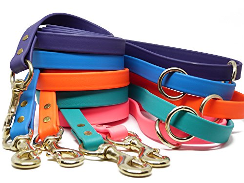 JimHodgesDogTraining-Gummy-Dog-Leash-Biothane-Dog-Training-Leash-Made-in-The-USA-6-Feet-Various-Sizes-Colors-0-1
