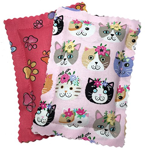 Johnson-Pet-Products-Catnip-Pillows-Two-Pack-Pinks-Handmade-in-The-USA-0