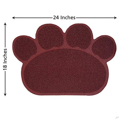 Jumbl-Cat-Litter-Mat-Catcher-Smartgrip-Paw-Shaped-Grass-Like-Material-Traps-Catches-Litter-1-Year-Warranty-24-x-18-0-1