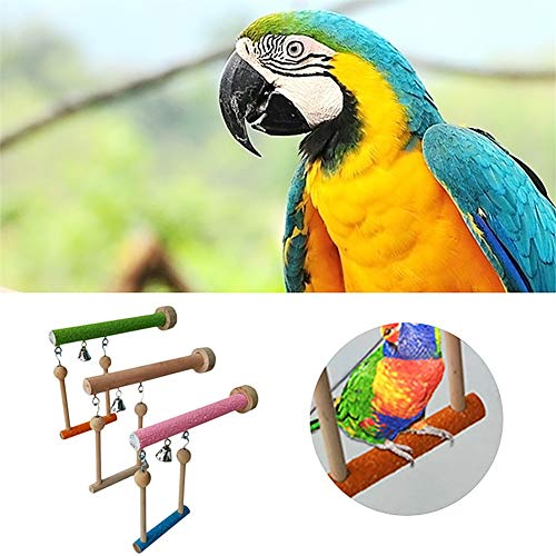Keersi-Wood-Perch-Toy-with-Bell-for-Bird-Parrot-Parakeet-Cockatiel-Conure-Cockatoo-African-Grey-Macaw-Eclectus-Amazon-Lovebird-Finch-Canary-Budgie-Cage-Stand-Swing-0-0