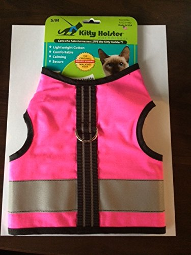 Kitty-Holster-Reflective-Safety-Harness-SM-Pink-0