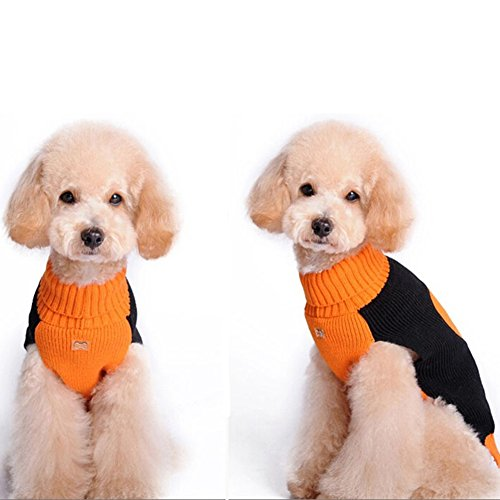 NACOCO-Dog-Sweater-Pumpkin-Pet-Sweaters-Halloween-Holiday-Party-Cat-Puppy-0-0