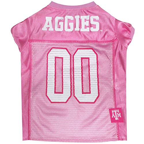 NCAA-Dog-Pink-Football-Jersey-Pet-Pink-Sports-Outfit-0