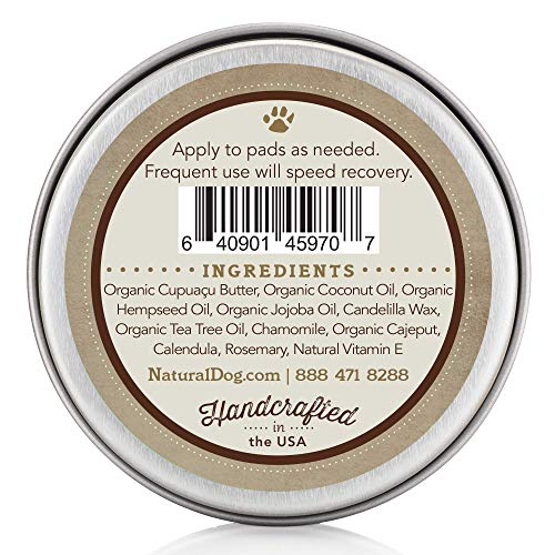 NaturalDogcom-PAW-Soother-Organic-All-Natural-for-Healing-Dry-Cracked-Dog-Paw-Pads-2-oz-Tin-0-0
