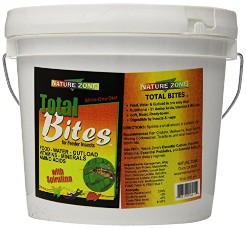 Nature-Zone-SNZ54513-Cricket-Total-Bites-Soft-Moist-Food-1-Gallon-0