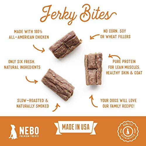 Nebo-Dog-Tender-Jerky-Bites-Made-in-USA-with-American-Beef-or-Chicken-Healthy-Delicious-1-Dog-Treat-No-Artificial-Fillers-Wheat-Corn-or-Soy-16-oz-Bag-0-1
