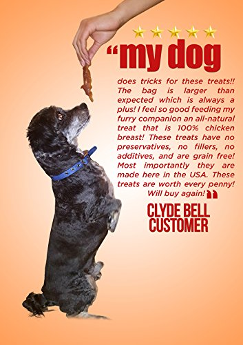 Organic-Premium-Chicken-Jerky-Dog-Treats-Made-in-USA-Grain-Free-All-Natural-1-Ingredient-USDA-Grade-A-Chicken-Breast-Pet-Training-Thick-Jerky-Chew-No-Preservatives-No-Soy-Gluten-Free-0-1