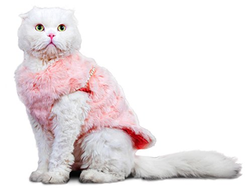 PLS-Pet-Halloween-Faux-Fur-Pet-Coat-Winter-Dog-Coat-Dog-Jacket-Dog-Costume-Cat-Costume-for-Small-Dogs-or-Cats-Cold-Weather-Princess-Costume-for-Halloween-Sale-0-0