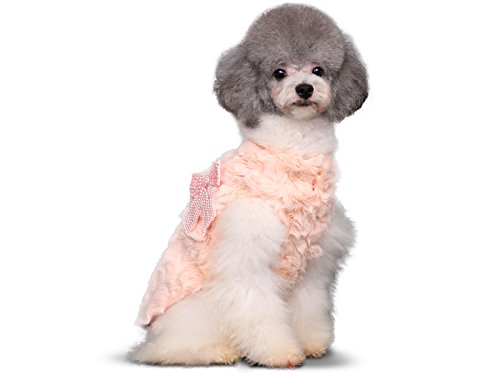 PLS-Pet-Halloween-Faux-Fur-Pet-Coat-Winter-Dog-Coat-Dog-Jacket-Dog-Costume-Cat-Costume-for-Small-Dogs-or-Cats-Cold-Weather-Princess-Costume-for-Halloween-Sale-0-2