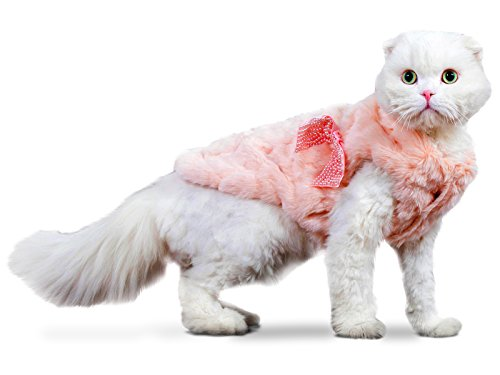 PLS-Pet-Halloween-Faux-Fur-Pet-Coat-Winter-Dog-Coat-Dog-Jacket-Dog-Costume-Cat-Costume-for-Small-Dogs-or-Cats-Cold-Weather-Princess-Costume-for-Halloween-Sale-0